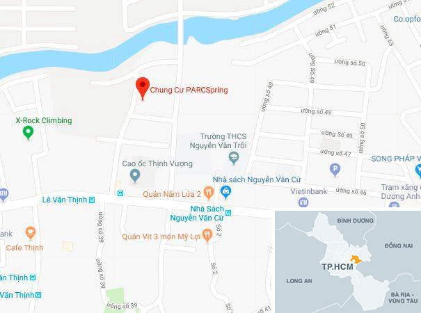 Cháy tại chung cư Parc Spring ở Sài Gòn - Ảnh 2