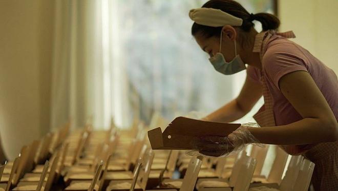 Ủng hộ công tác chống dịch bệnh, 'mỹ nhân đẹp nhất Philippines' Marian Rivera tự tay nấu 200 suất cơm cho đội ngũ y tế - Ảnh 2