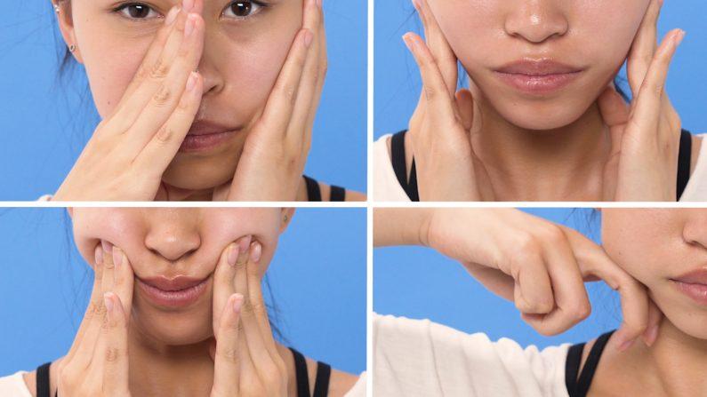 2 phút với kỹ thuật tự massage mặt có thể thay đổi làn da của bạn - Ảnh 3