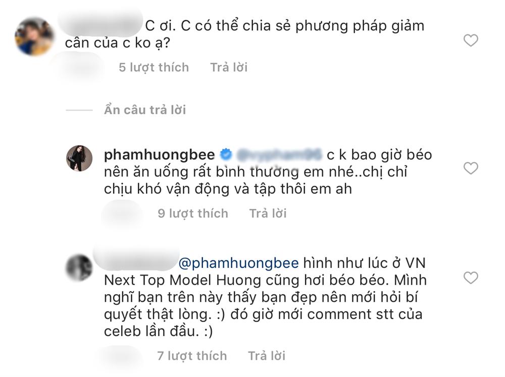 Phạm Hương tỏ thái độ căng thẳng khi fan hỏi bí quyết giảm cân - Ảnh 2
