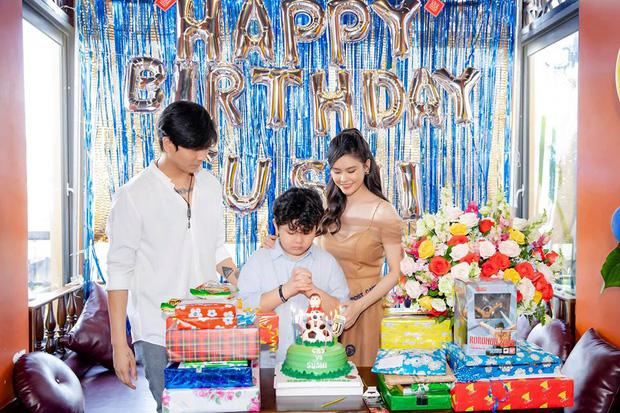 Tim và Trương Quỳnh Anh bất ngờ tái ngộ trong dịp sinh nhật con trai: Dù ly hôn nhưng vẫn giữ thái độ đáng ngưỡng mộ - Ảnh 1