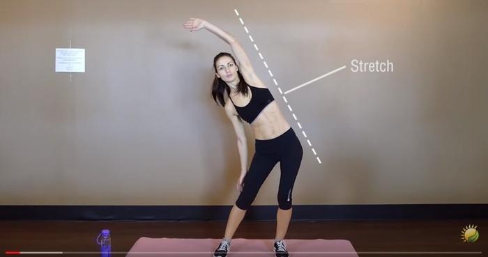 3 động tác kéo căng trước khi đi ngủ giúp bạn giảm cân siêu tốc - Ảnh 2