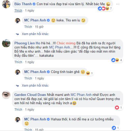 Khoe quà giá trị tặng mẹ, MC Phan Anh bị anti-fan chửi: 'Làm từ thiện thu nhập nó mới cao' - Ảnh 2
