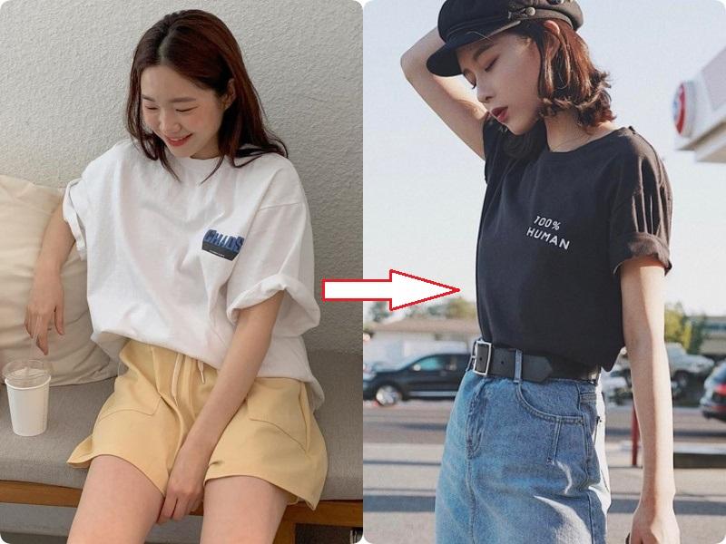 Các nàng hãy chọn áo phông theo 4 tips này, đảm bảo luôn đẹp và quan trọng là nhìn người gầy đi vài ký - Ảnh 8