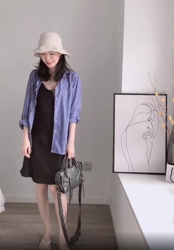 Không tin chỉ 1 chiếc váy đen mà mặc được từ đi làm tới đi chơi, nàng công sở ra tay chứng minh với 11 set đồ bắt mắt - Ảnh 3