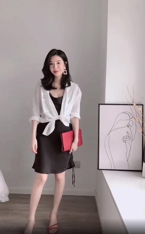 Không tin chỉ 1 chiếc váy đen mà mặc được từ đi làm tới đi chơi, nàng công sở ra tay chứng minh với 11 set đồ bắt mắt - Ảnh 6