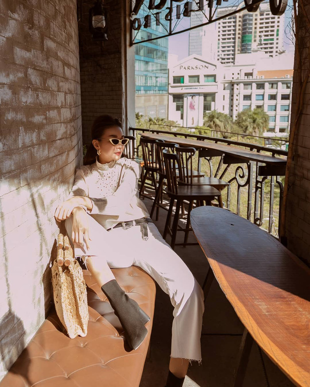 Nhìn các sao Việt diện lại đồ cũ siêu xinh, bạn sẽ học được bao cách mix&match và không cần mua thêm áo quần cho tốn tiền - Ảnh 2