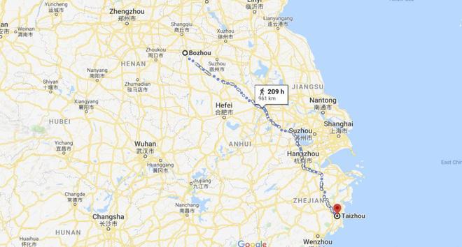 Phải đi bộ 950km vì bị cấm lên xe buýt do không có smartphone ở Trung Quốc - Ảnh 2