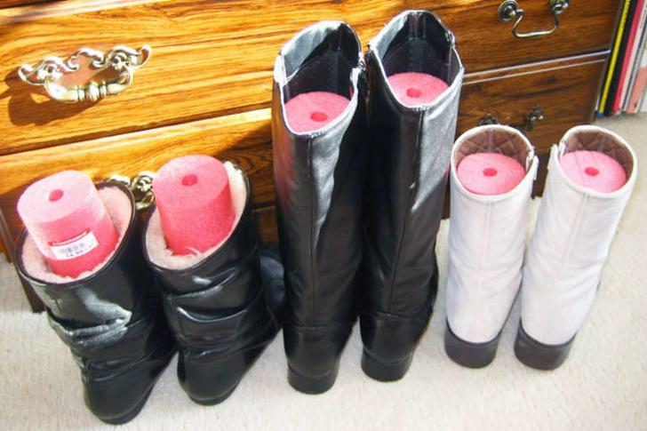 14 mẹo xử lý quần áo, giày dép thông minh giúp cuộc sống của phụ nữ thêm dễ dàng - Ảnh 3