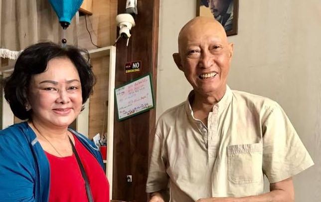 Nghệ sĩ Lê Bình được về nhà, sắp phải hóa trị thêm - Ảnh 2
