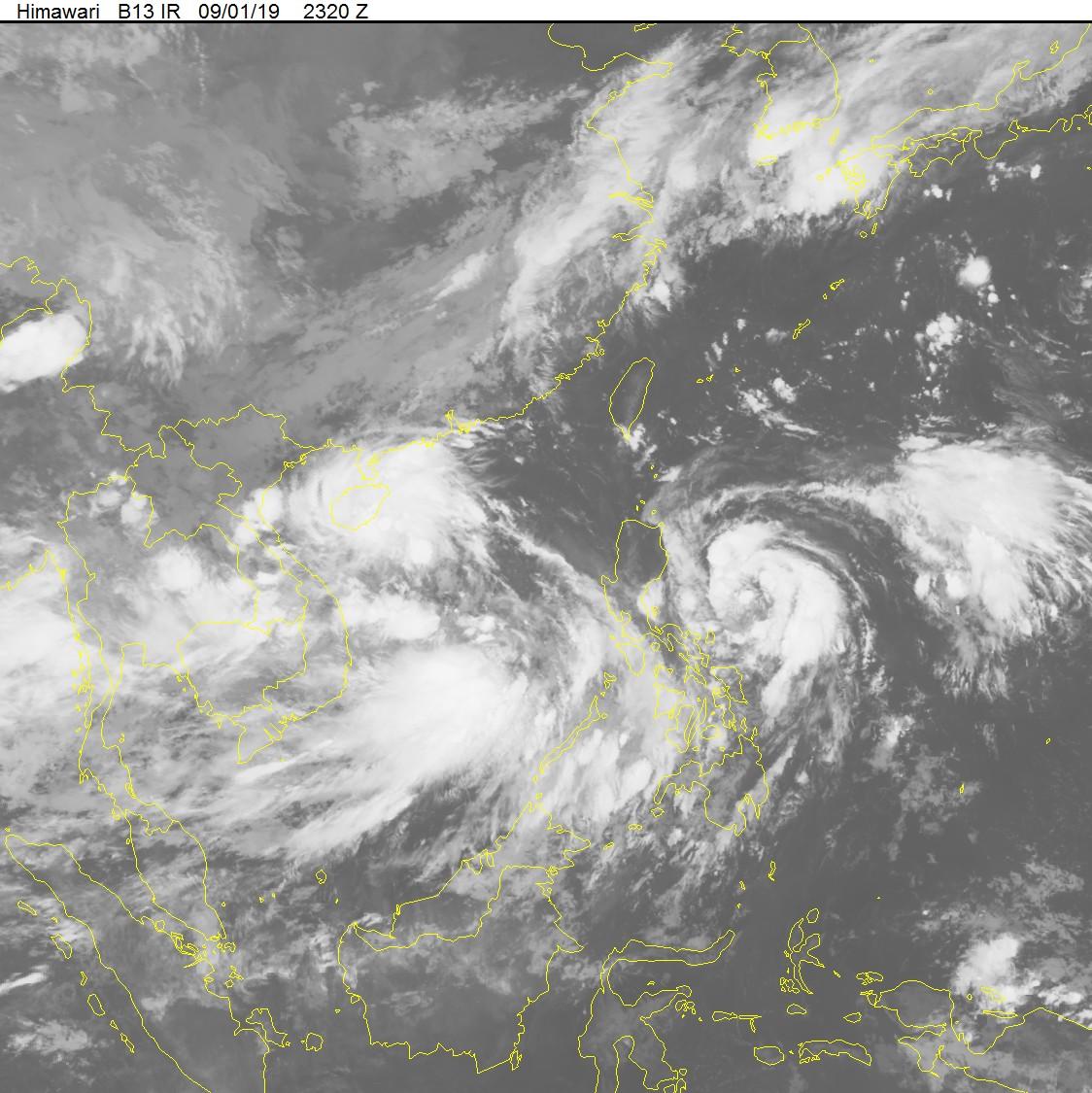 MỚI: Biển Đông có thêm áp thấp nhiệt đới, khả năng thành song bão? - Ảnh 2