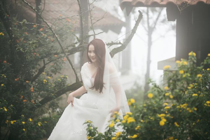 Trang điểm làm tóc đơn giản, Phan Như Thảo vẫn vô cùng xinh đẹp - Ảnh: FB