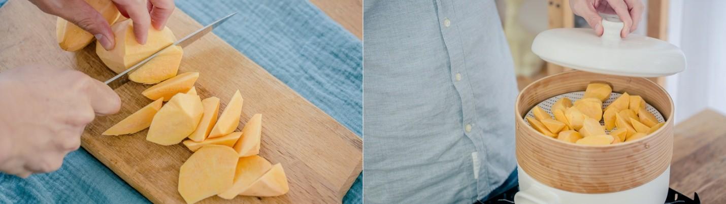 Cách làm bánh khoai chiên mới toanh, thơm giòn vô đối - Ảnh 2