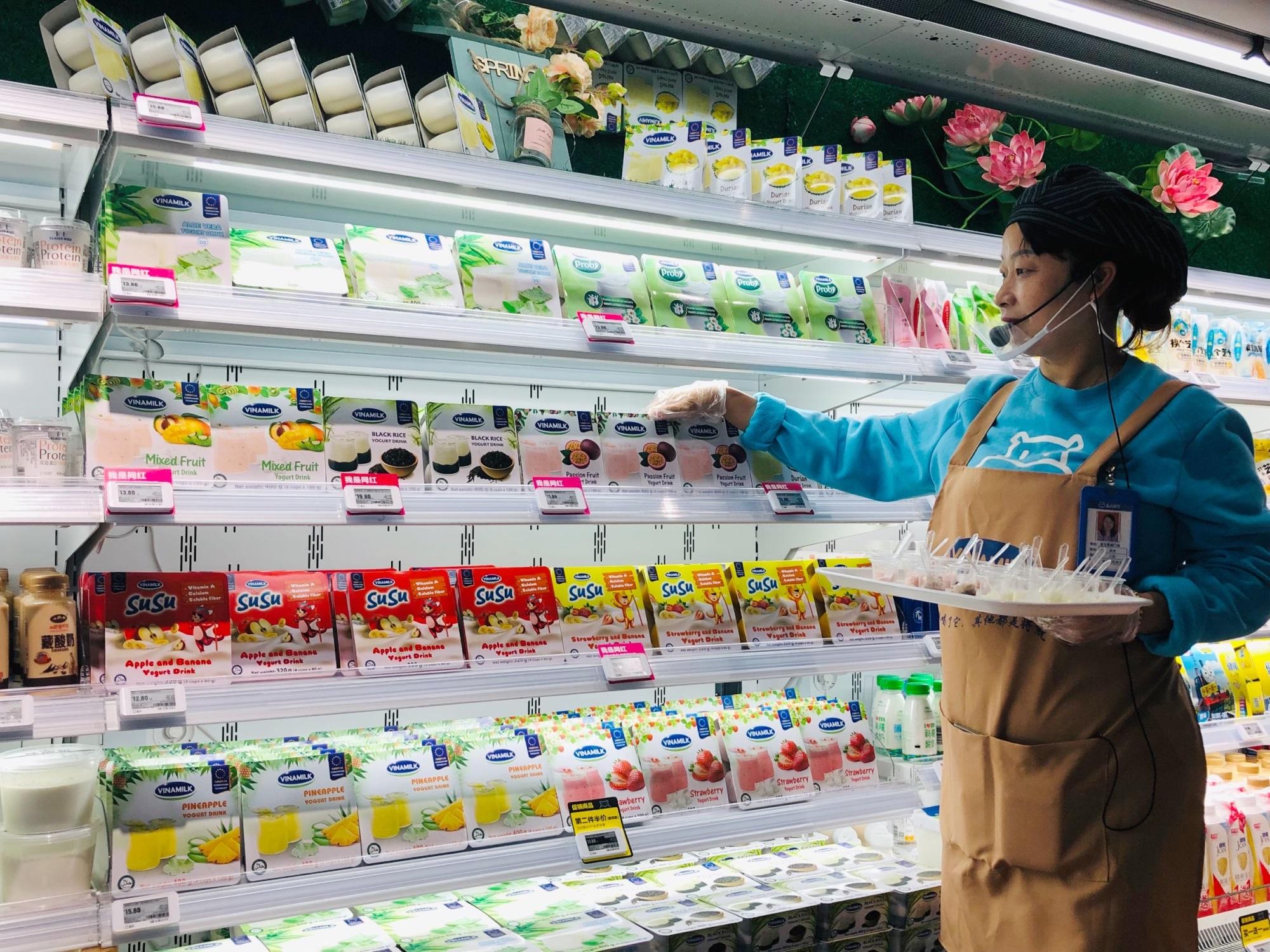 Sữa chua Vinamilk đã có mặt tại siêu thị thông minh Hema của Alibaba tại Trung Quốc - Ảnh 2