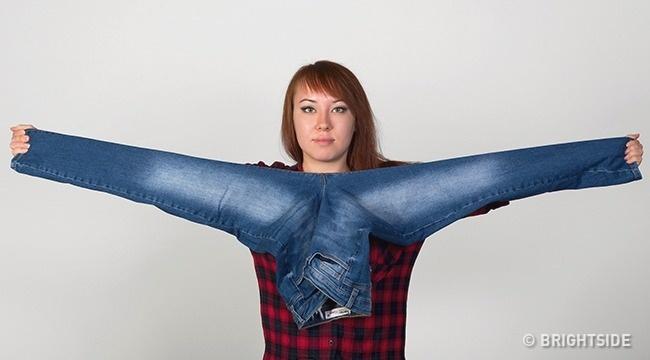 4 bí kíp cực dễ giúp bạn chọn quần jeans hoàn hảo, vừa vặn với vóc dáng mà không cần mặc thử - Ảnh 3