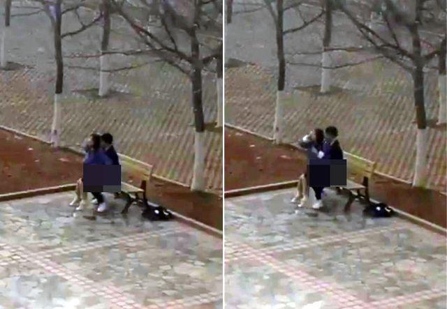 Cặp đôi sinh viên 'mây mưa' trên sân trường, say sưa thay đổi tư thế khiến người xem choáng váng - Ảnh 2