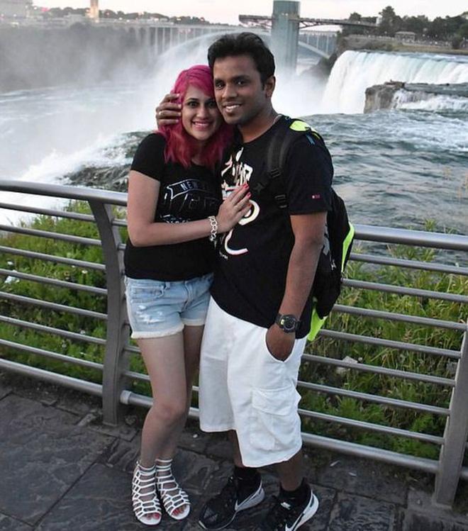 Chụp ảnh tự sướng trên vách đá dựng đứng, vợ chồng Travel Blogger rơi xuống vực chết thảm - Ảnh 2