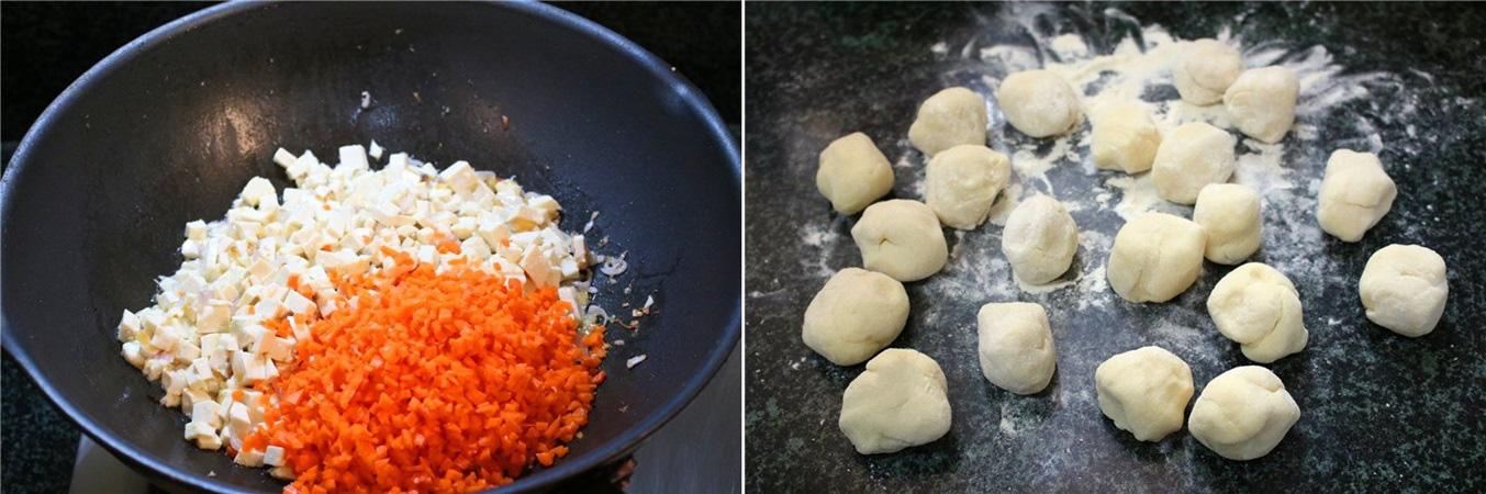 Người Trung Quốc có cách làm bánh rán mặn ngon thần sầu, học ngay công thức thôi! - Ảnh 3