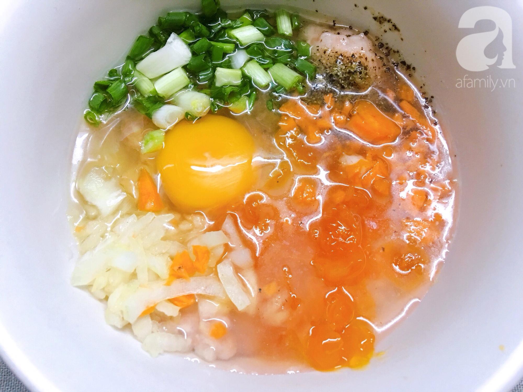 Thử ngay món mới cho bữa tối hôm nay: Chả hấp trứng muối ngon bất ngờ! - Ảnh 3