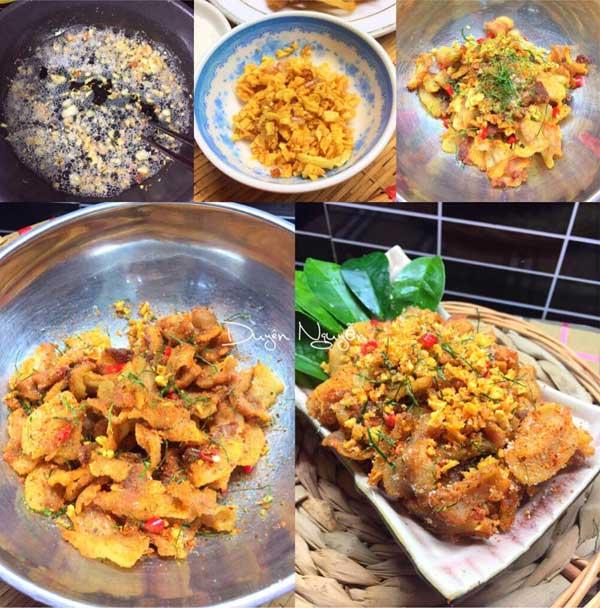 Cách làm món tóp mỡ rang muối ớt đơn giản mà đưa cơm - Ảnh 3