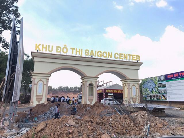 """Chưa xong mặt bằng, Saigon Land đã """"liều"""" mở bán dự án Sài Gòn Center - Ảnh 1"""