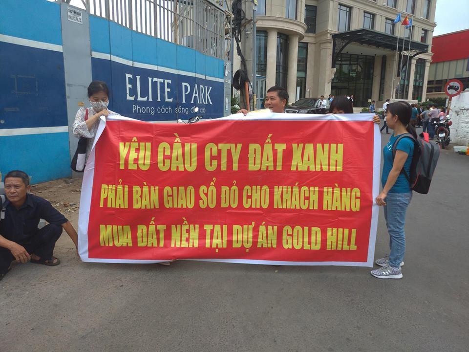 Làm rõ việc khách hàng mua dự án Gold Hill của Tập đoàn Đất Xanh nhiều năm không có sổ đỏ - Ảnh 2