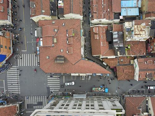 """Toà nhà """"mỏng như tờ giấy"""", chỗ hẹp nhất chỉ 20cm - Ảnh 2"""