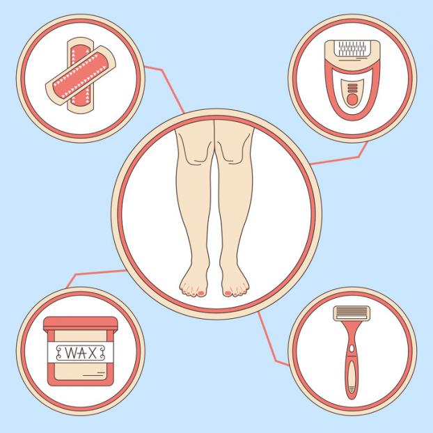 8 sai lầm khi triệt lông chân tại nhà nhiều người mắc phải - Ảnh 1