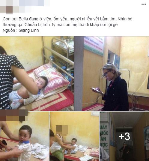 Con trai Bella bầm tím khắp người trong bệnh viện, cư dân mạng phẫn nộ: 'Hãy cứu đứa bé ra khỏi người mẹ này đi' - Ảnh 6