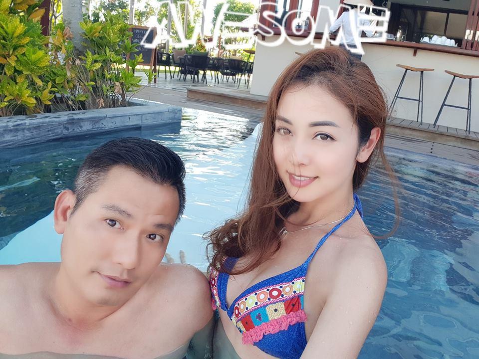 Hoa hậu Jennifer Phạm khen ông xã đại gia: 'Có chồng tâm lý thích lắm' - Ảnh 1