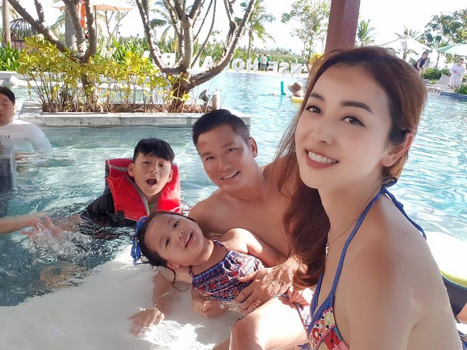 Hoa hậu Jennifer Phạm khen ông xã đại gia: 'Có chồng tâm lý thích lắm' - Ảnh 6