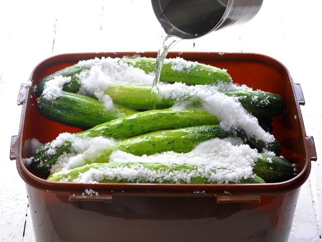 Học người Hàn làm món dưa chuột muối chua ngọt chuẩn ngon nhức nhối - Ảnh 3
