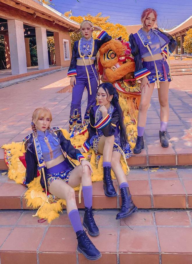 Ấn tượng nhóm nhảy Việt mặc trang phục Nhật bình triều Nguyễn nhảy cover hit mới của BLACKPINK, còn đầu tư hẳn 3 concept như quay MV! - Ảnh 7