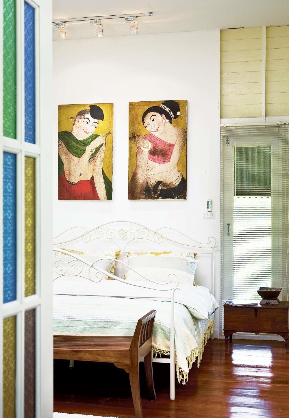 Nhà cấp 4 với thiết kế đẹp lãng mạn giữa cánh đồng lúa xanh tươi ở ngoại ô - Ảnh 7