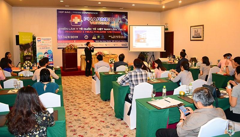 25 quốc gia tham gia triển lãm y tế, giới thiệu thành tựu mới của ngành Y - Dược Việt Nam và thế giới - Ảnh 1