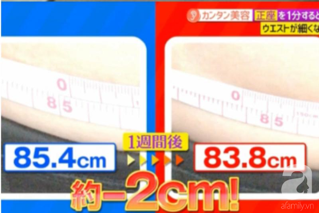 Chuyên gia Nhật Bản chỉ cách giảm 2cm vòng eo sau 7 ngày chỉ nhờ ngồi 1 phút mỗi sáng - Ảnh 1
