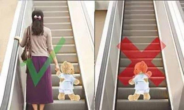 Kỹ năng tối thiểu khi đi thang cuốn trẻ phải biết để tránh tai nạn đáng tiếc - Ảnh 4