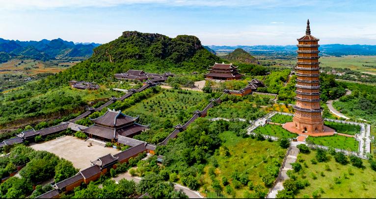 """""""Mập mờ"""" việc cấp hàng nghìn ha đất xây chùa Bái Đính, Tam Chúc - Ảnh 1"""