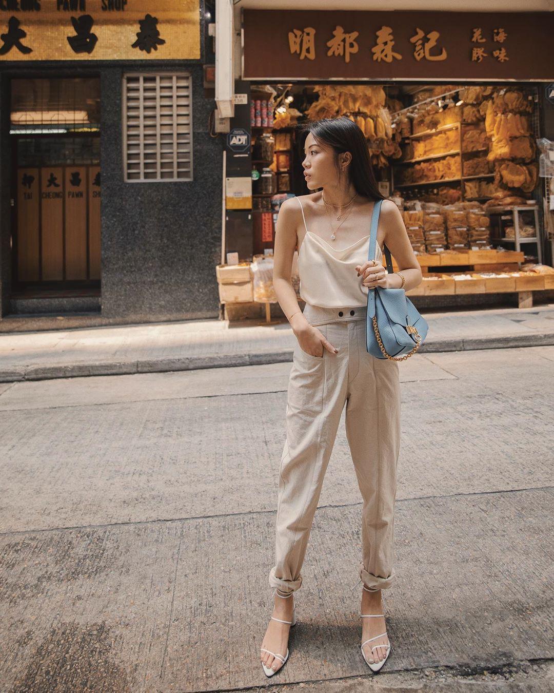 Street style Châu Á: Chẳng cầu kỳ, chỉ với vài ba món đồ công sở đơn giản mà vẫn mãn nhãn người nhìn - Ảnh 14