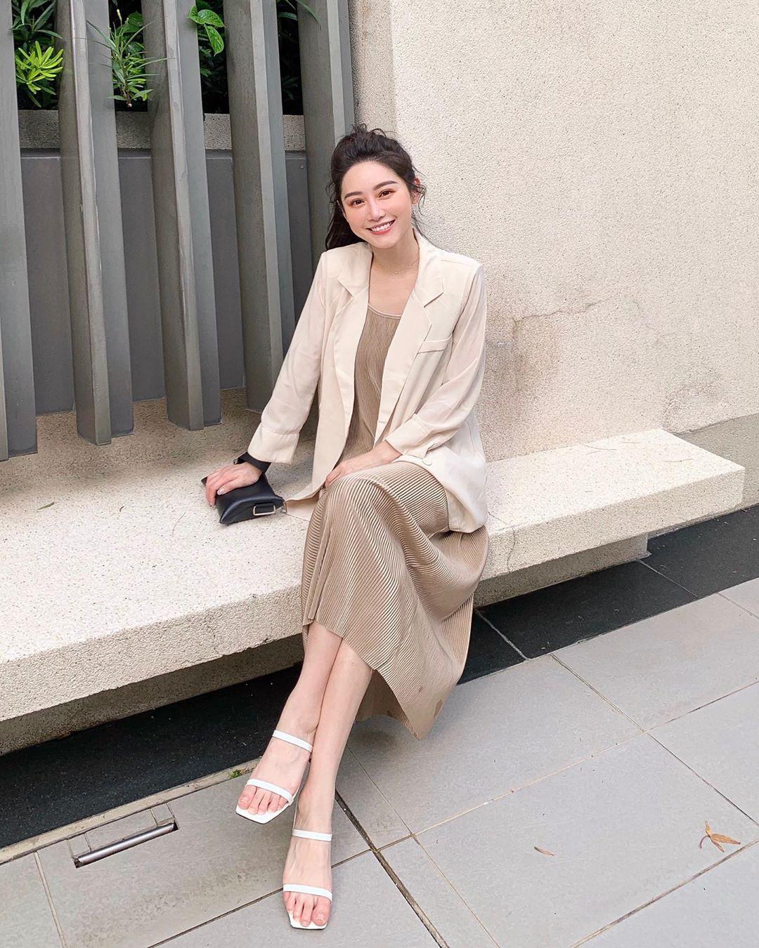 Street style Châu Á: Chẳng cầu kỳ, chỉ với vài ba món đồ công sở đơn giản mà vẫn mãn nhãn người nhìn - Ảnh 5
