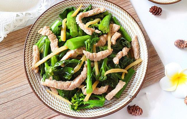 Rau cải cứ phải xào thế này thì ăn ngon cực kỳ - Ảnh 5