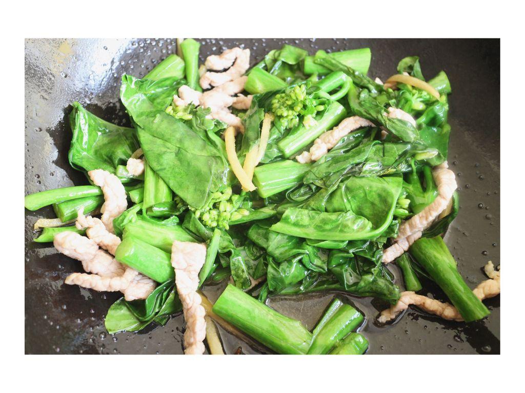 Rau cải cứ phải xào thế này thì ăn ngon cực kỳ - Ảnh 4