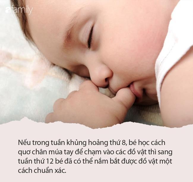 10 tuần khủng hoảng các bé sẽ trải qua trong 2 năm đầu đời - Ảnh 2