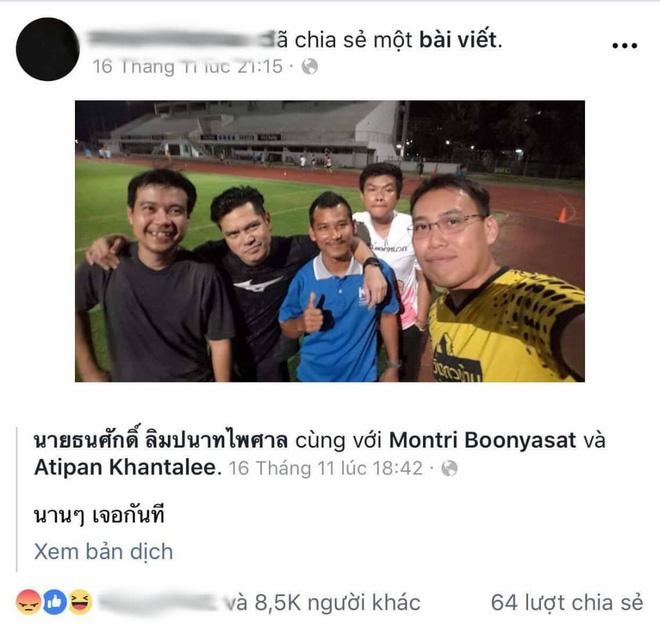 Đổi tên, thay avatar facebook màu đen, trọng tài biên người Thái phát hoảng vì CĐV Việt Nam? - Ảnh 4