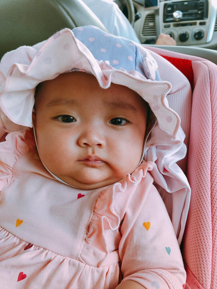 Khoe con gái mũm mĩm, Phan Hiển được khen là ông chồng 'dẻo miệng' nhất năm khi nịnh vợ cực ngọt - Ảnh 3
