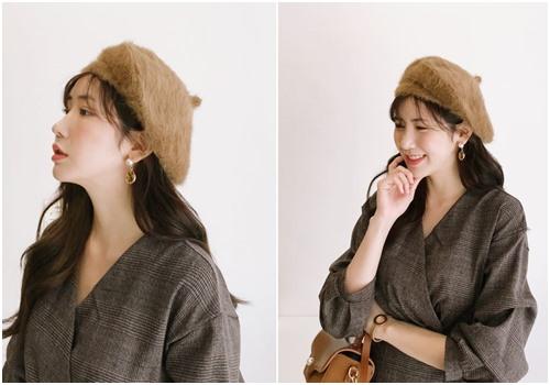 Phong cách cổ điển cùng chiếc mũ nồi dễ thương - Ảnh 7
