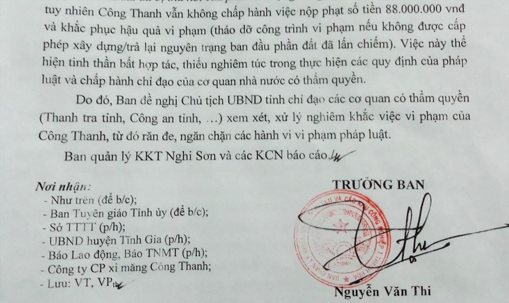 """Vụ bạt núi xây biệt thự khủng trái phép ở Thanh Hóa: Công Thanh """"phớt lờ"""" các quyết định xử phạt - Ảnh 3"""
