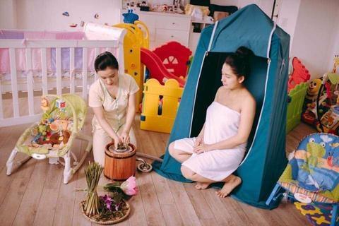 Cách xông sau sinh giúp vùng kín se khít, mẹ trẻ đẹp như thời con gái - Ảnh 3