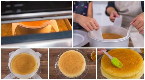 Công thức làm bánh bông lan phô mai kiểu Nhật mịn mềm ngon khó cưỡng - Ảnh 11