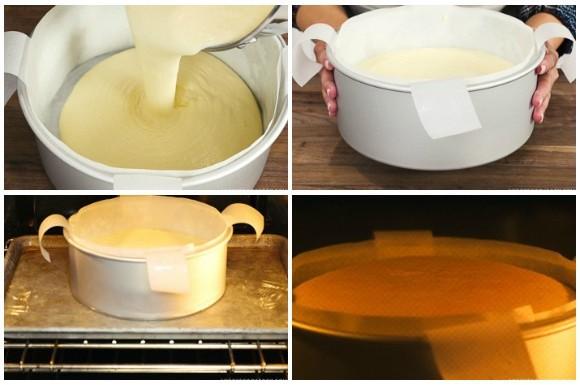 Công thức làm bánh bông lan phô mai kiểu Nhật mịn mềm ngon khó cưỡng - Ảnh 10